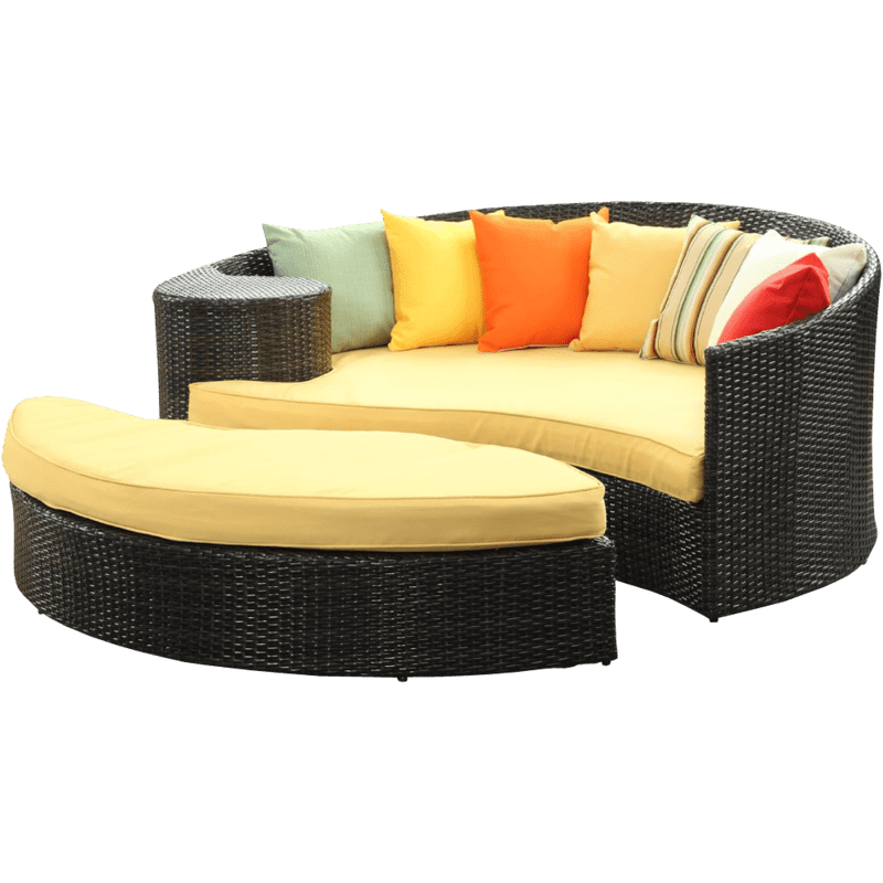 Patio daybed i flet